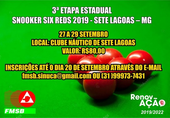 Snooker Six Reds - 2019